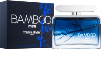 Franck Olivier Bamboo Men Eau de Toilette voor Mannen 75 ml