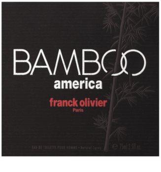 Franck Olivier Bamboo America Eau de Toilette for Men 75 ml