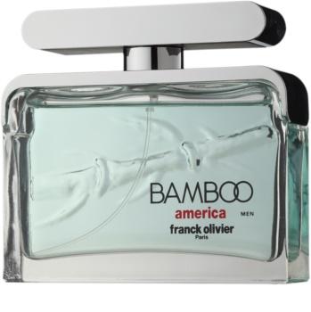 Franck Olivier Bamboo America Eau de Toilette für Herren 75 ml