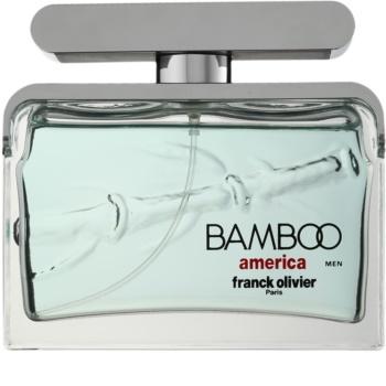 Franck Olivier Bamboo America toaletná voda pre mužov 75 ml