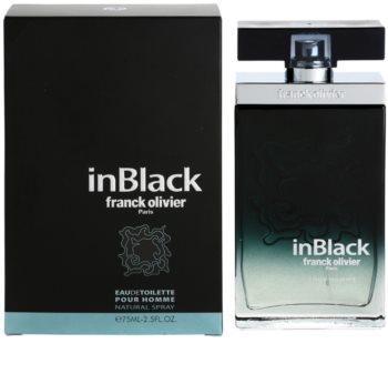 Franck Olivier In Black Pour Homme woda toaletowa dla mężczyzn 75 ml