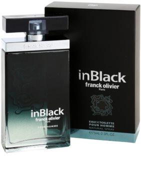 Franck Olivier In Black Pour Homme toaletní voda pro muže 75 ml
