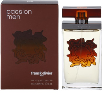 Franck Olivier Passion Man Eau de Toilette for Men 75 ml