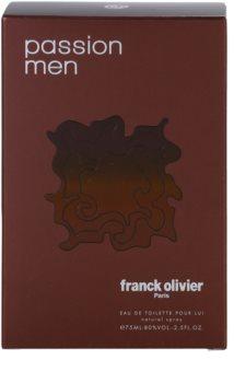 Franck Olivier Passion Man eau de toilette pour homme 75 ml