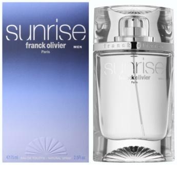 Franck Olivier Sunrise Eau de Toilette for Men 75 ml