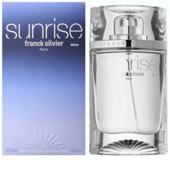Franck Olivier Sunrise toaletna voda za moške