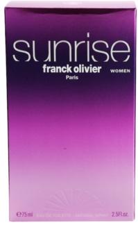Franck Olivier Sunrise eau de toilette pour femme 75 ml