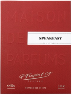 Frapin Speakeasy Eau de Parfum unisex 100 ml