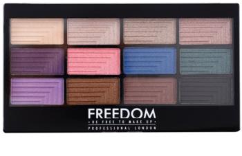 Freedom Pro 12 Dreamcatcher paleta farduri de ochi cu aplicator