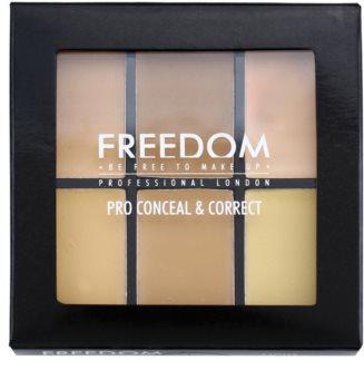 Freedom Pro Conceal korrektor paletta
