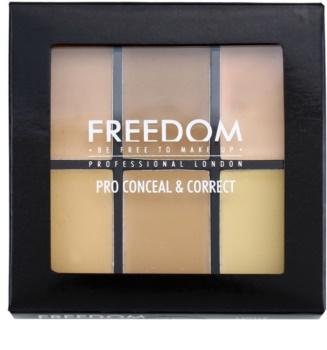 Freedom Pro Conceal paleta korektorov
