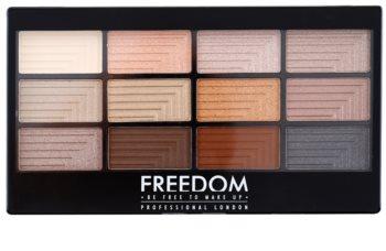 Freedom Pro 12 Le Fabuleux paleta sjenila za oči s aplikatorom