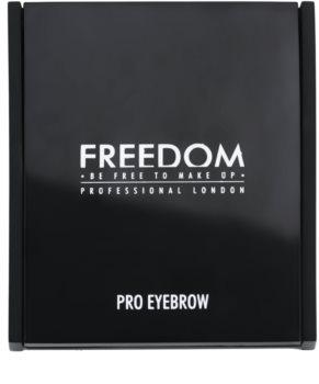 Freedom Pro Eyebrow paleta pentru machiaj sprancene