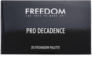 Freedom Pro Decadence Magic paleta očních stínů s aplikátorem