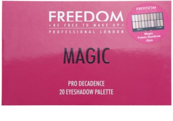 Freedom Pro Decadence Magic paleta farduri de ochi cu aplicator