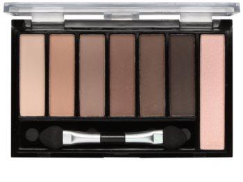 Freedom Pro Shade & Brighten Mattes Kit 1 Eyeshadow Palette with Highlighter