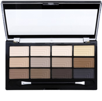Freedom Pro 12 Audacious Mattes Eyeshadow Palette with Applicator