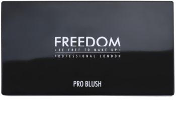 Freedom Pro Blush Peach and Baked paleta pentru contur facial