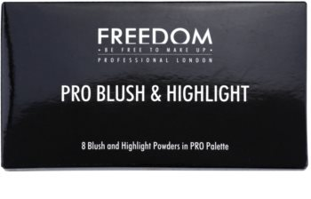 Freedom Pro Blush Peach and Baked палетка для контурування