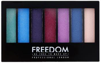 Freedom Pro Shade & Brighten Play палітра тіней для повік з хайлайтером