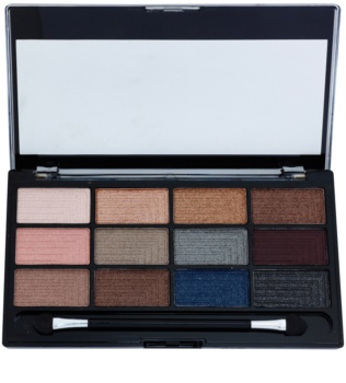 Freedom Pro 12 Romance and Jewels Eyeshadow Palette with Applicator