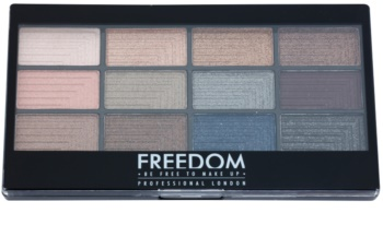 Freedom Pro 12 Romance and Jewels paleta farduri de ochi cu aplicator
