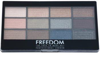 Freedom Pro 12 Romance and Jewels paleta očních stínů s aplikátorem