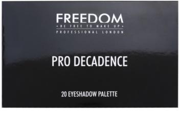 Freedom Pro Decadence Rock & Roll Queen paleta farduri de ochi cu aplicator