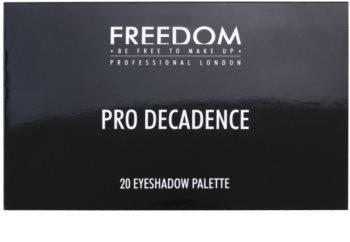 Freedom Pro Decadence Rock & Roll Queen paleta senčil za oči z aplikatorjem