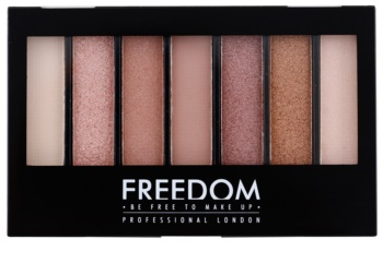 Freedom Pro Shade & Brighten Stunning Rose paleta fard de pleoape cu efect luminos