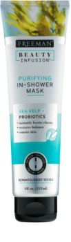 Freeman Beauty Infusion Sea Kelp + Probiotics Cleansing Mask for Shower