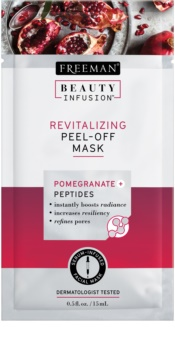 Freeman Beauty Infusion Pomegranate + Peptides masque peel-off revitalisant visage