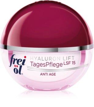 frei öl Anti Age Hyaluron Lift denní zpevňující a protivráskový krém SPF 15