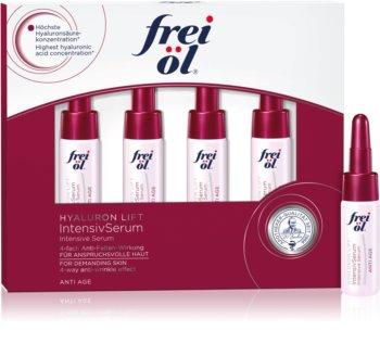 frei öl Anti Age Hyaluron Lift štvortýždňová intenzívna kúra proti starnutiu pleti