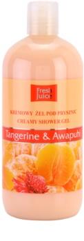 Fresh Juice Tangerine & Awapuhi krémový sprchový gel