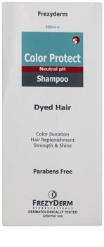 Frezyderm Color Protect sampon a hajszín megóvására