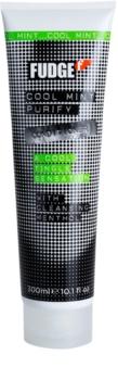 Fudge Cool Mint Purify hydratačný kondicionér s chladivým účinkom