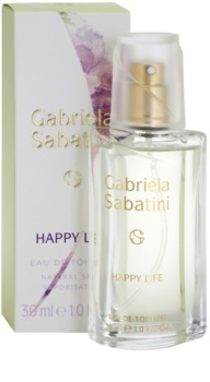Gabriela Sabatini Happy Life Eau de Toilette Damen 30 ml