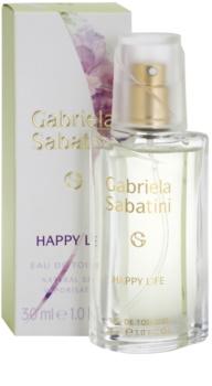 Gabriela Sabatini Happy Life Eau de Toilette Für Damen 30 ml