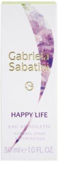 Gabriela Sabatini Happy Life eau de toilette pentru femei 30 ml