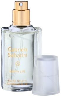 Gabriela Sabatini Happy Life Eau de Toilette für Damen 20 ml