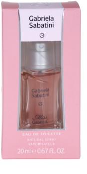 Gabriela Sabatini Miss Gabriela Eau de Toilette para mulheres 20 ml