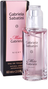 Gabriela Sabatini Miss Gabriela Night Eau de Toilette Damen 60 ml