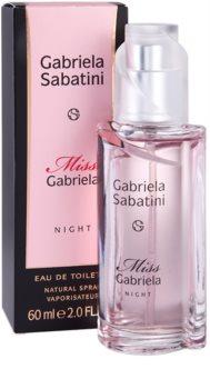 Gabriela Sabatini Miss Gabriela Night toaletní voda pro ženy 60 ml