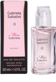 Gabriela Sabatini Miss Gabriela Night Eau De Toilette For Women 60