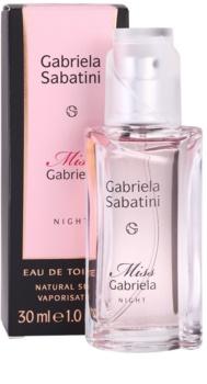 Gabriela Sabatini Miss Gabriela Night eau de toilette nőknek 30 ml