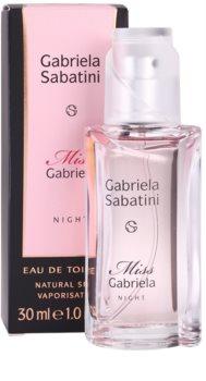Gabriela Sabatini Miss Gabriela Night Eau de Toilette para mulheres 30 ml