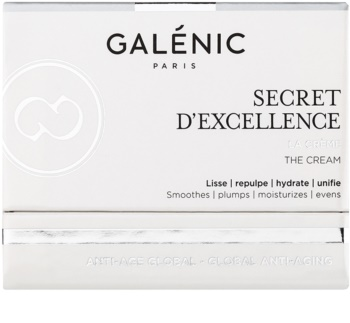 Galénic Secret D'Excelence creme rejuvenescedor anti envelhecimento  para rosto, pescoço e decote