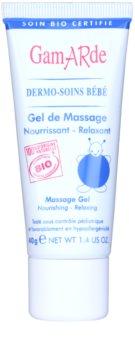 Gamarde Bébé gel de masaje relajante y nutritivo para la piel del bebé