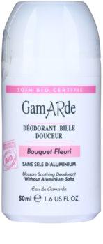 Gamarde Hygiene desodorizante calmante em roll-on com fragrância floral
